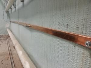 Заземляющая сетка в здании
