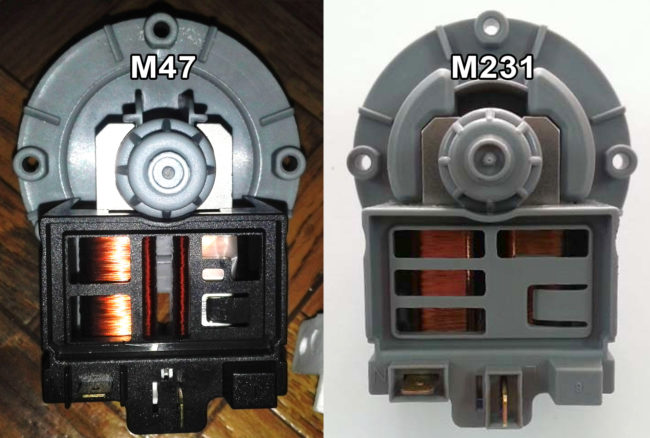 Разница между Askoll M47 и M231