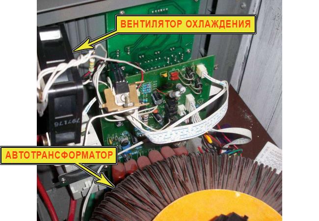 РЕСАНТА АСН-10000 со снятой крышкой